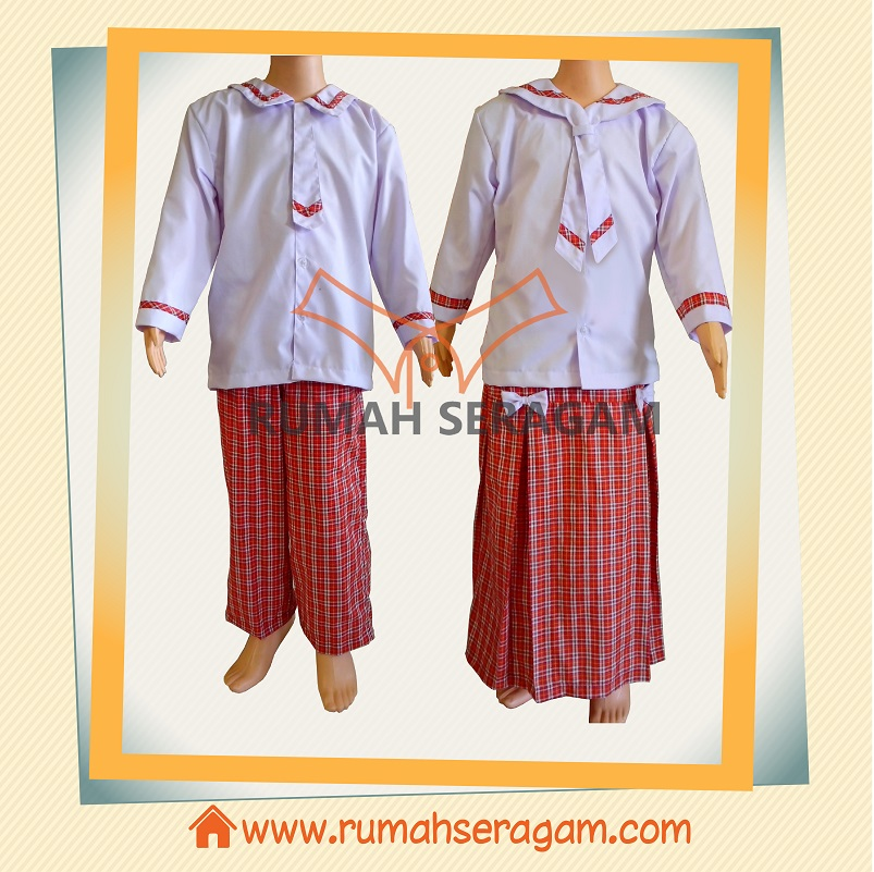 Baju Seragam TK Korea Rumah Seragam Solusi Seragam