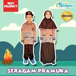 Model Seragam Pramuka TK