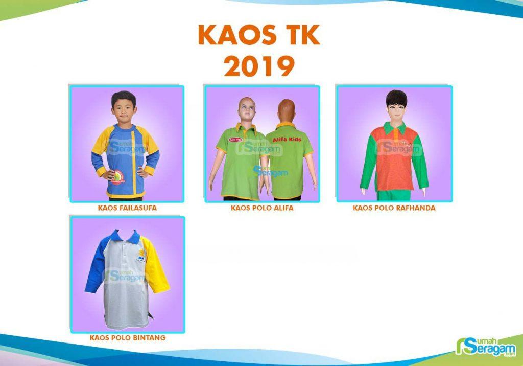 Model Kaos untuk Sekolah - Rumah Seragam
