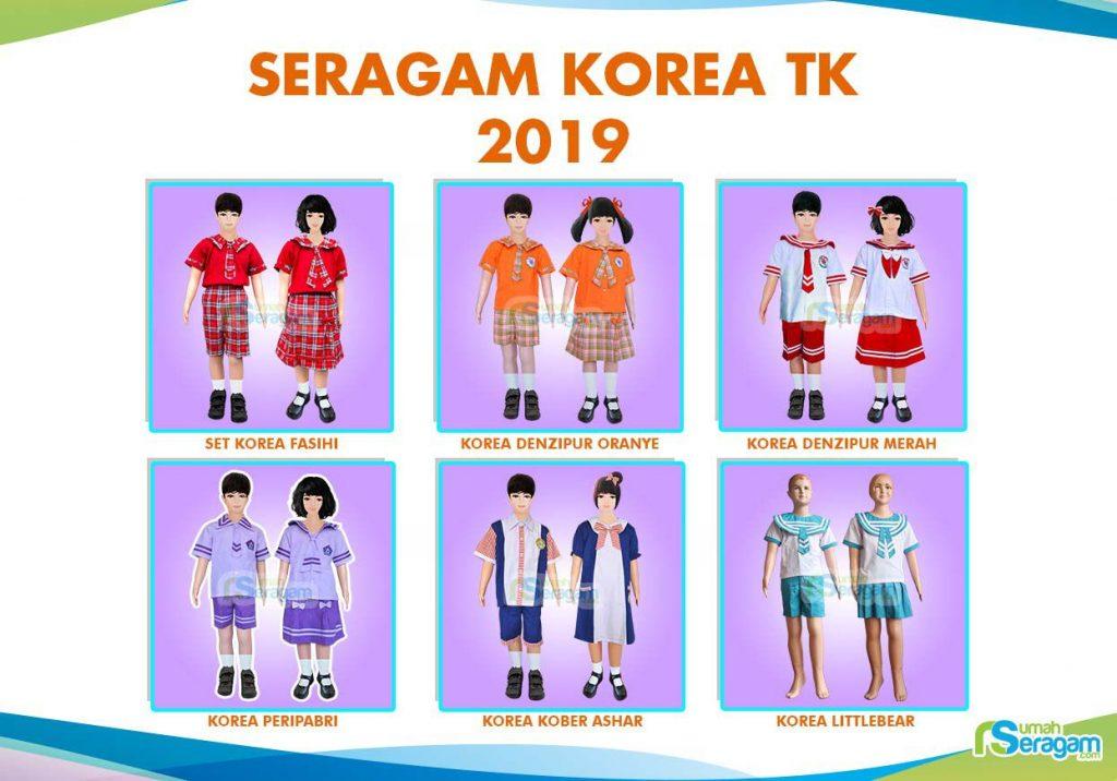 Seragam TK Korea - Rumah Seragam