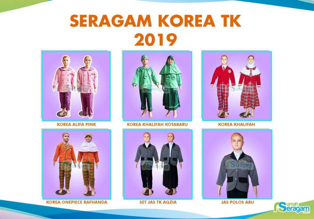 Pakaian Motif Korea untuk TK  - Rumah Seragam