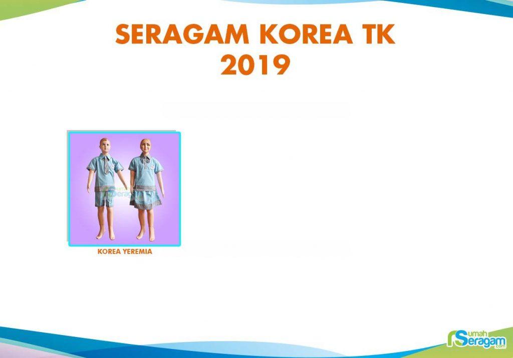 Seragam Model Korea untuk TPA - Rumah Seragam