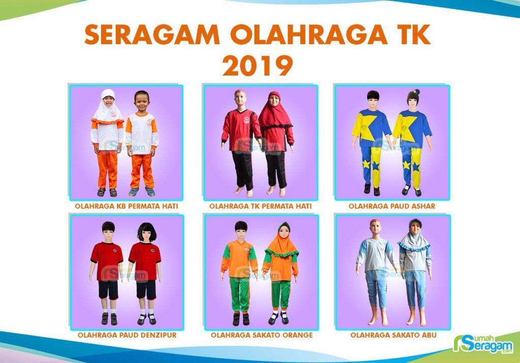 Model Baju Olahraga Anak TK