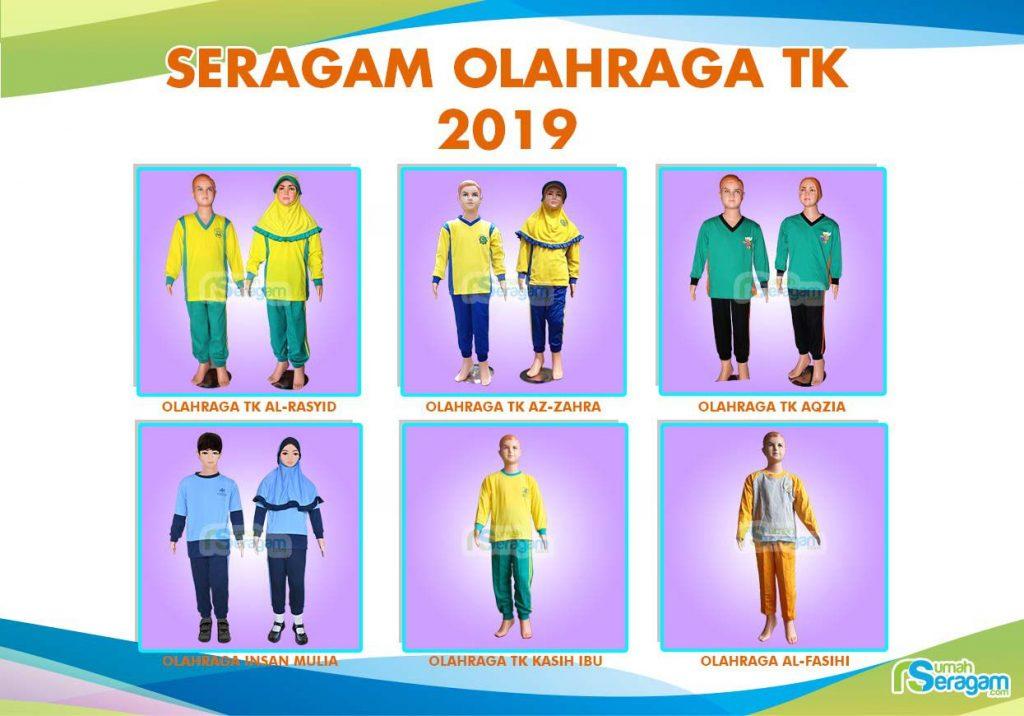 Model Kaos Olahraga TK