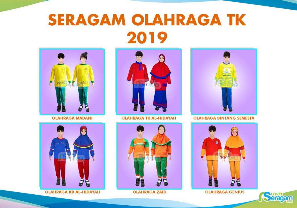 Model Baju Senam TK