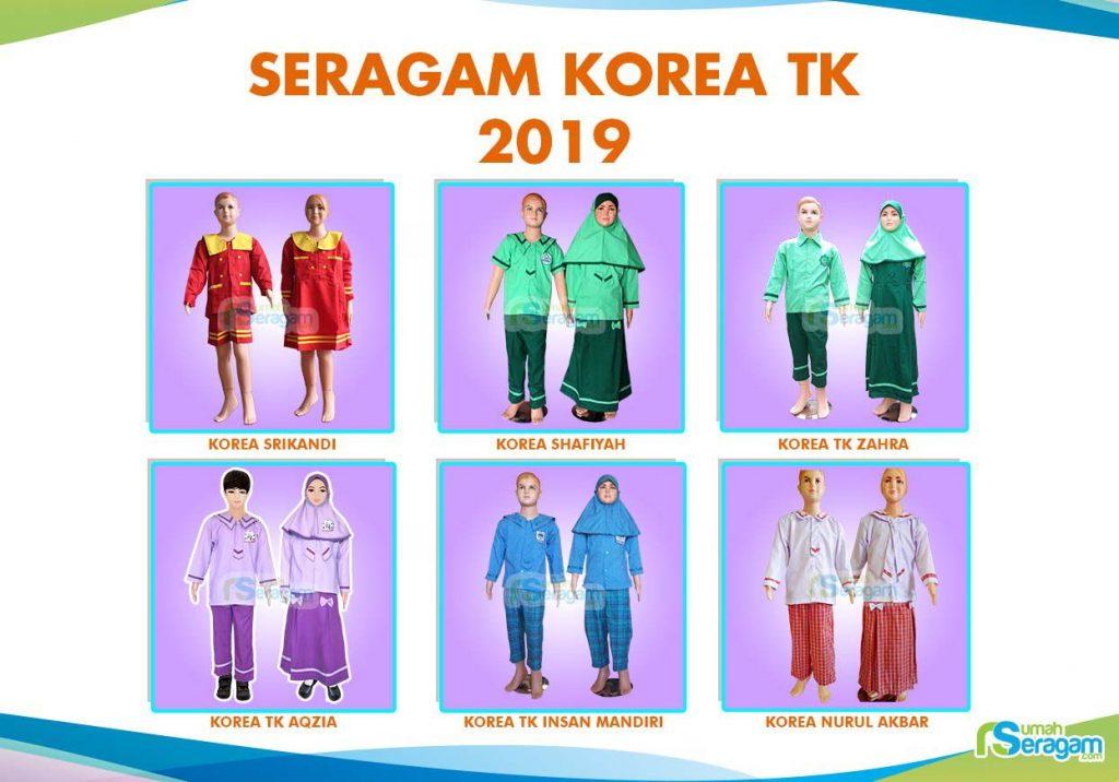 Model Baju Seragam TK Korea