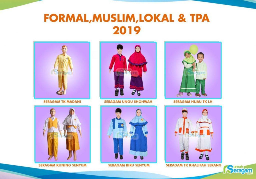 Model Baju Seragam TK Muslim