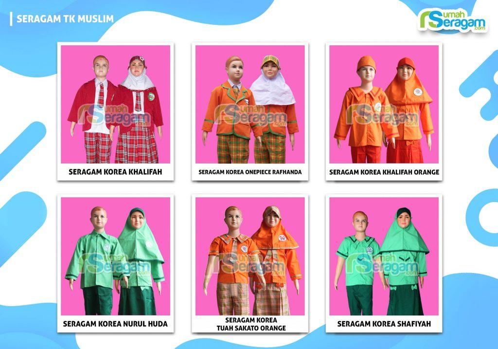 Model Seragam TK Korea Muslim