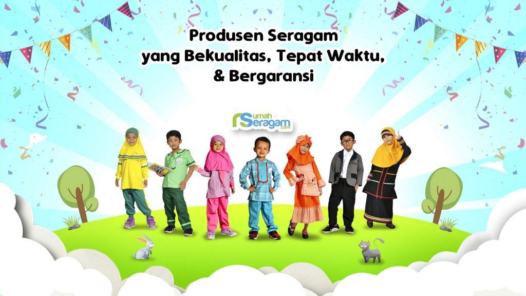 Contoh Seragam Anak TK Islam