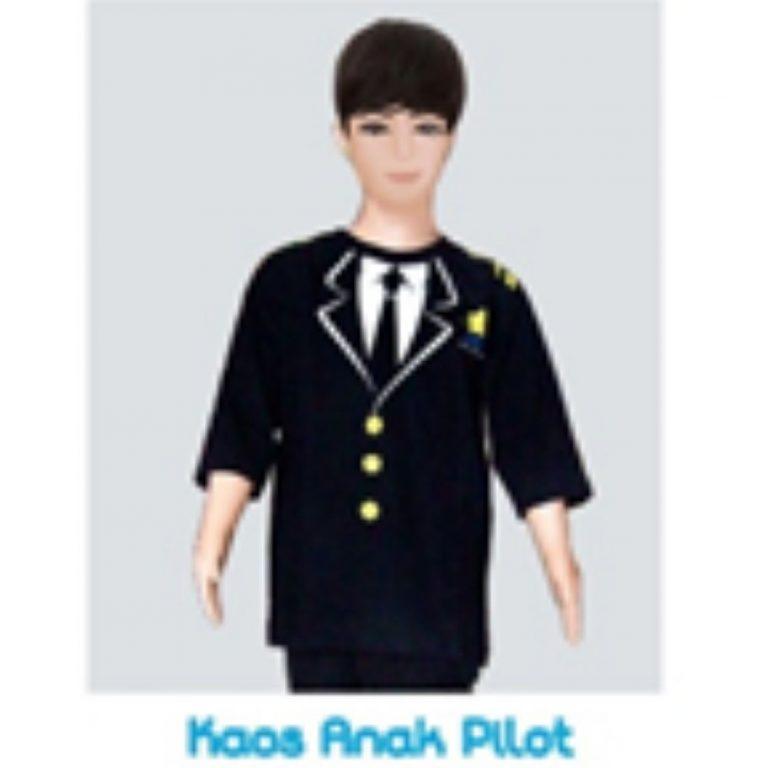 Seragam Kaos Anak Pilot