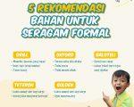 5 Rekomendasi Bahan Untuk Seragam Formal