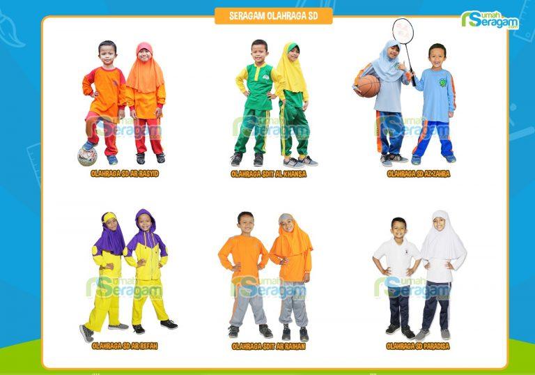 Seragam Sekolah Olahraga