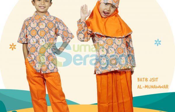 Seragam TK Batik Muslim Munawwar