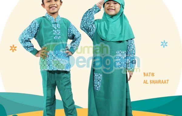 Seragam TK Batik Muslim Al Khairaat