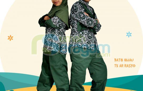 Seragam TK Batik Muslim Ar Rasyid