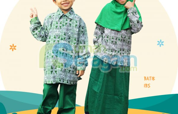 Seragam TK Batik Muslim IBS