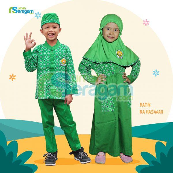 Seragam TK Batik Muslim Hasanah