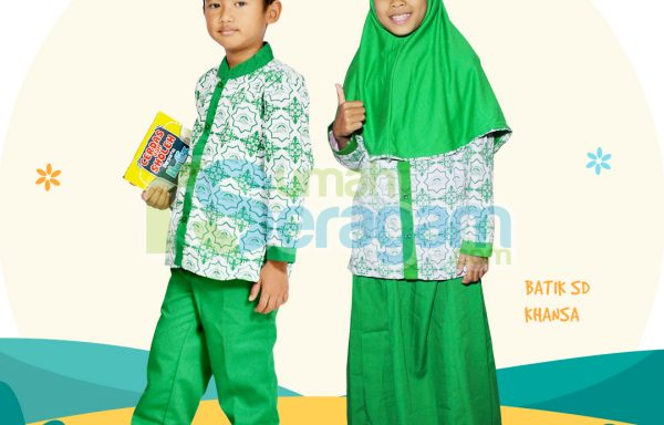 Seragam Batik SD Khansa
