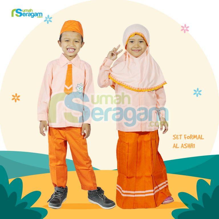 Seragam TK Formal Muslim Al Ashri