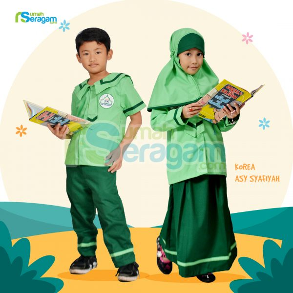 Seragam TK Korea Muslim