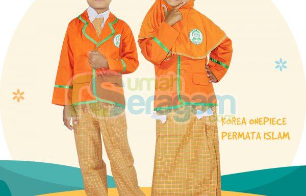 Seragam TK Korea Muslim Permata Islam