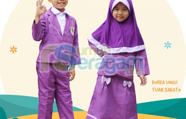 Seragam TK Formal Muslim Tuah Sakato