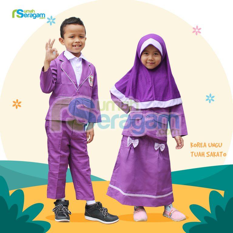 Seragam TK Korea Muslim Tuah Sakato