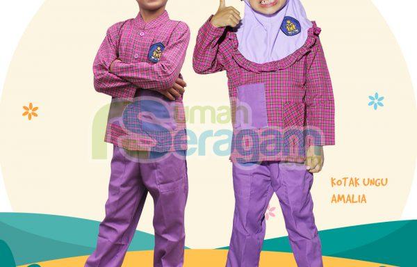 Seragam TK Kotak Muslim Amalia