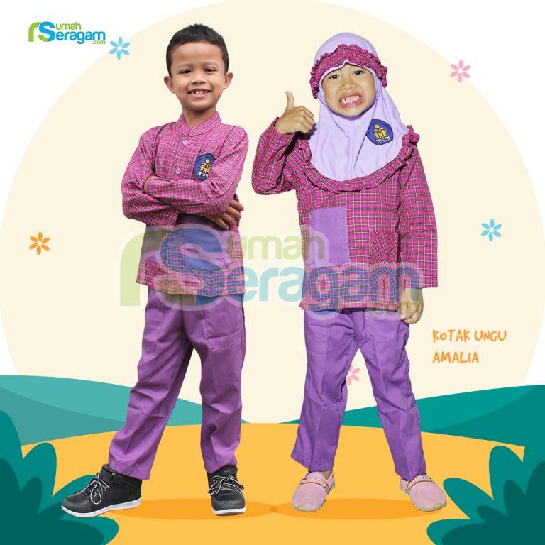 Seragam TK Kotak Muslim