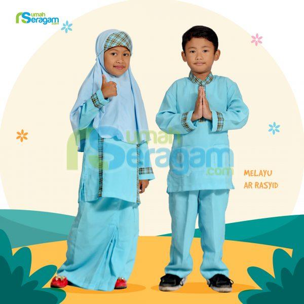 Seragam TPA Melayu Aqzia