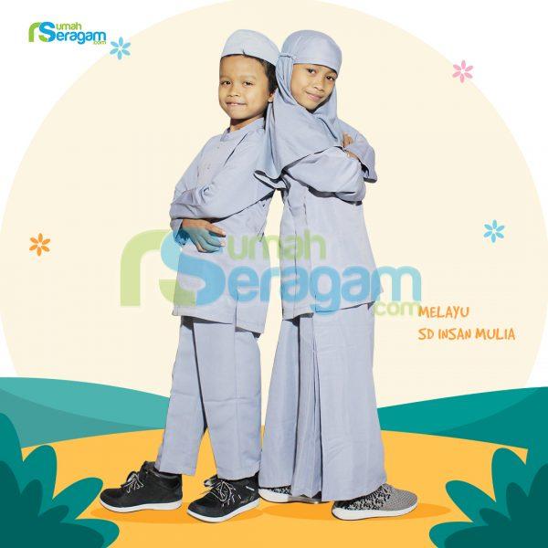 Seragam TPA Melayu SD Insan Mulia