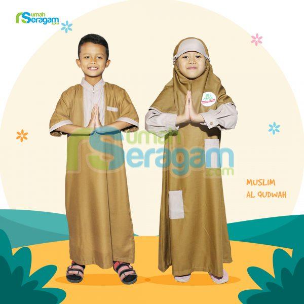 Seragam Muslim Al Qudwah