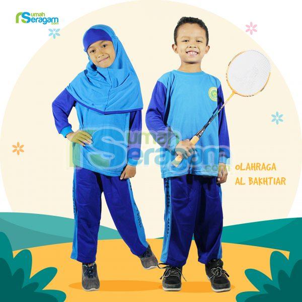 Seragam Olahraga TK Muslim Al Bakhtiar