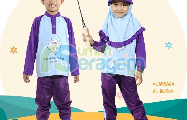 Seragam Olahraga TK Muslim Al Husna