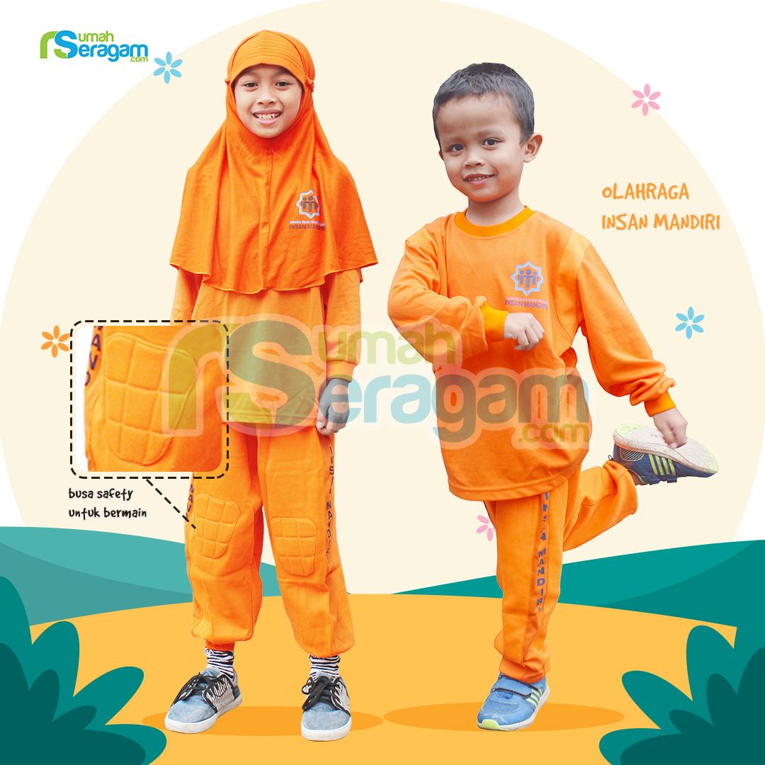 Seragam Olahraga TK Muslim