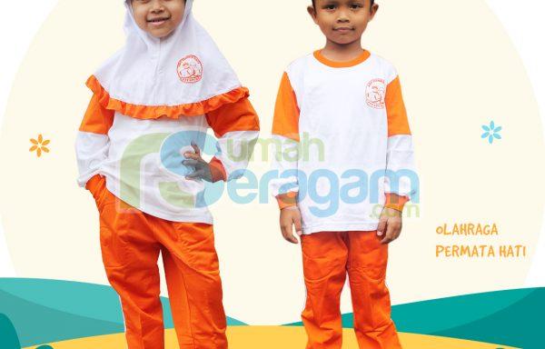 Seragam Olahraga TK Muslim Permata Hati