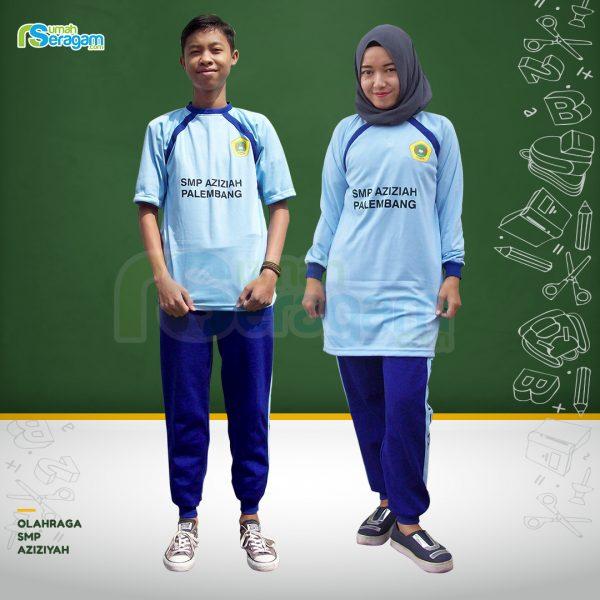 Seragam Olahraga SMP Aziziyah