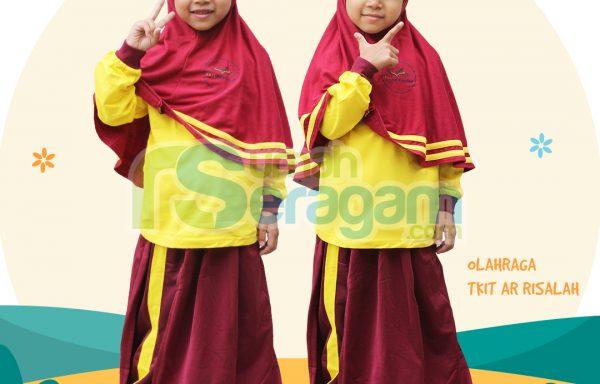 Seragam Olahraga TK Muslim Ar Risalah