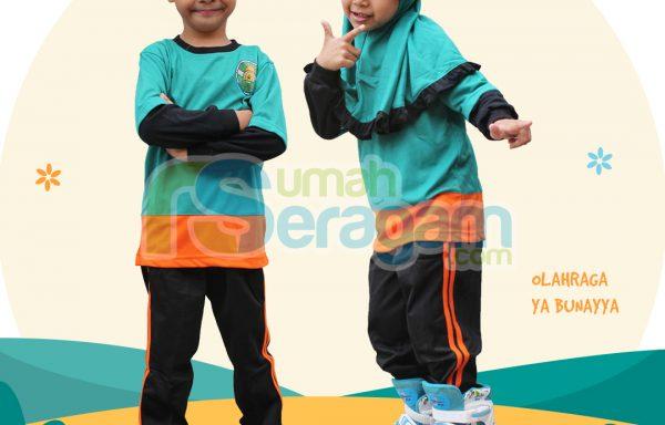 Seragam Olahraga TK Muslim Ya Bunayya
