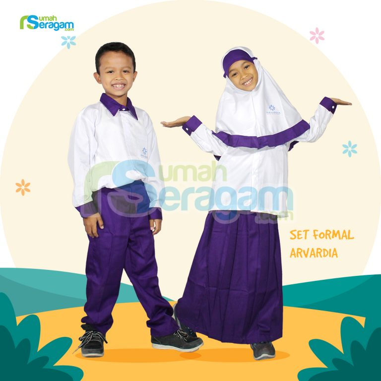Seragam TK Formal Muslim