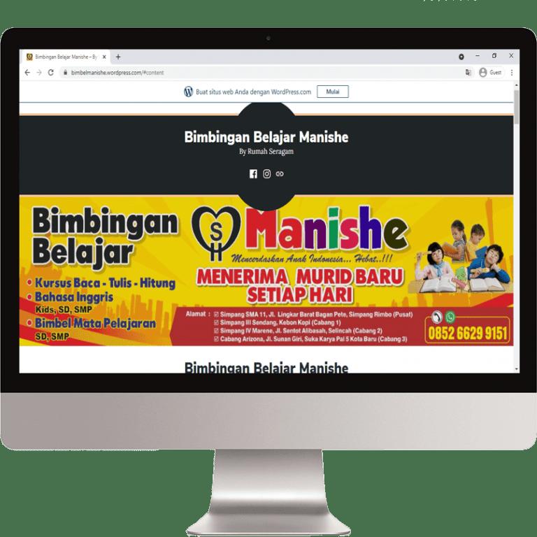 web manishe